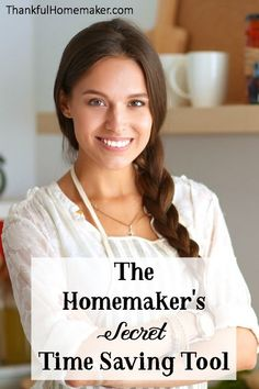 I'm sharing a secret that has helped me to come to the realization that most household chores that I think take FOREVER may not take longer than 10 minutes. It's a simple tool that you Godly Woman, Godly Wife, Christian Homemaking, Sewing Hacks, Sewing Tips, Sewing Tutorials, Sewing Ideas, Organized Mom, Mom Hacks