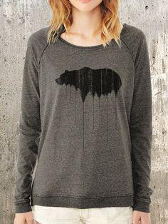 women's bear sweater