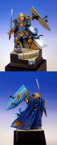 Fantasy Character Design Tutorial : Raek lesser everblight warbeast miniature tutorials and