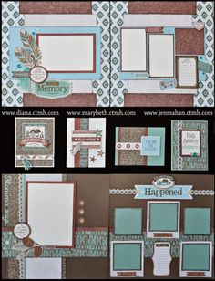 Together We Scrap: CTMH Jackson Layout ideas