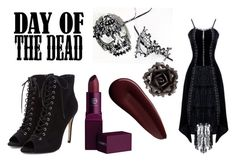 """""""The Dead are Rising!!! Time to find Daryl Dixon!!!"""" by kristwd ❤ liked on Polyvore featuring Masquerade, Lipstick Queen, Surratt, Bliss Studio and Dayofthedead"""
