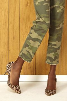 leopard and camo