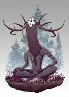 Forest Spirit on Behance