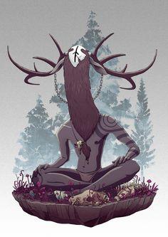 Forest Spirit on Behance