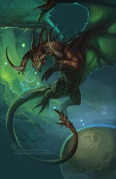2013 Zodiac Dragon: Taurus - by Christina M. Yen