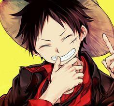 Monkey D. Luffy - I love his smile!