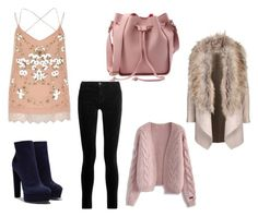 """""""Untitled #101"""" by heta-makinen on Polyvore featuring River Island, J Brand, Casadei and Chicwish"""