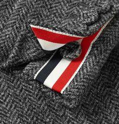 Thom BrowneHerringbone Wool-Tweed Overcoat