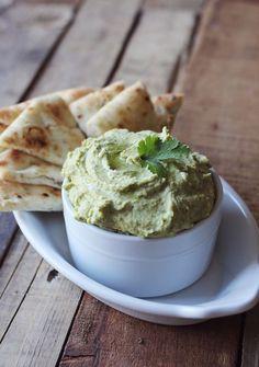 Cilantro & Ginger Hummus