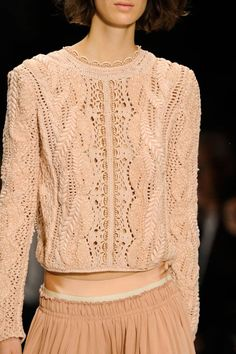 Vanessa Bruno Spring 2013 Ready-to-Wear Detail