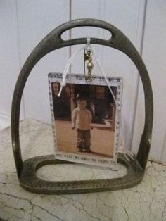 Photo frame idea.