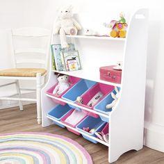 White Toy Sorters, Storage Solutions, Nursery