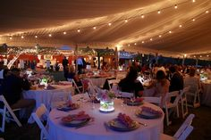Pretty in Pink Tent Wedding at Benbrook Stables