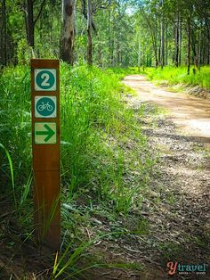 Mountain Biking trails in Atherton Tablelands, Queensland, Australia