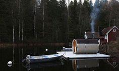 Sauna, Outdoor Decor, Life, Steam Room