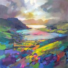 Ballachulish limited edition print by Scott Naismith £125