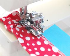 Awesome tutorials. She explains sewing machine feet and the different things they do through out her projects.