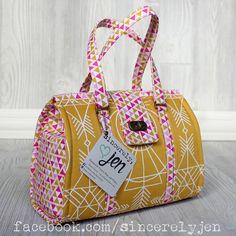 Swoon Nora by Sincerely Jen in Wander by Joel Dewberry - Free Spirit Fabrics - Wanderful combination !!