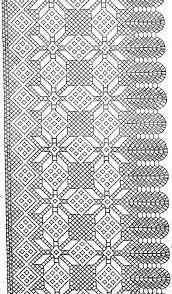 Resultado de imagen de picados de bolillos para chales
