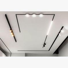 Profiles - Delta Light Modern Lighting Design, Lighting Concepts, Linear Lighting, Interior Lighting Design, Track Lighting, Bedroom False Ceiling Design, Ceiling Light Design, Ceiling Lights, Blitz Design