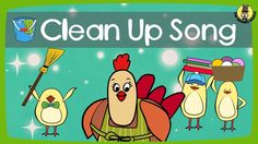 """Here is a song that talks about cleaning up after doing various activities. Like our """"Good Morning Song"""" and """"Good Bye Song"""", this """"Clean Up Song"""" is written to help with classroom management (kindergarten, preschool, elementary school, early ESL classes), but it might also be great for parents at home! For ESL and EFL teachers: The song is written as a simple call and response song where the kids repeat the phrases """"It's time to clean up"""" and """"Time to tidy up""""..."""