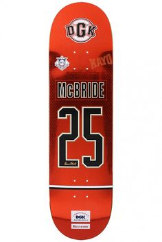 McBride Throwback Skateboard Deck by DGK