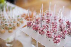 Cocktail déjeunatoire - mariage - verrines - parisien - traiteur - mariage à domicile - original - sur-mesure - coloré - Ile de France