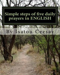 Simple steps of five daily prayers in ENGLISH * Visit the image link more details.
