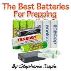 Best Batteries for Emergency Preparedness. I heard about these on the Survival Summit that was broadcast last week.