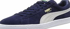 Puma Suede Classic, Unisex Adults Low-Top Trainers, Blue (Peacoat/White 51), 11 UK (45 EU) Puma Suede Classic Mens Suede Trainers in Peacoat. Definitely the most well-known and popular of all PUMA shoes, this design classic rightly deserves its place in public (Barcode EAN = 4053987427137) http://www.comparestoreprices.co.uk/december-2016-week-1/puma-suede-classic-unisex-adults-low-top-trainers-blue-peacoat-white-51--11-uk-45-eu-.asp