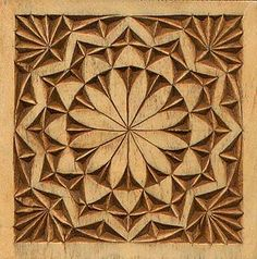 rosette with corner detail