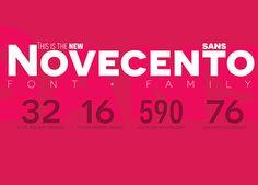 Novecento Sans - [Synthview]