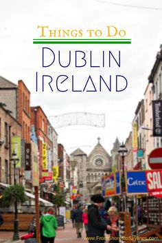 Things to do in Dublin Ireland: drinks in church, crypts, libraries, castles and… Ireland Vacation, Ireland Travel, Ireland Food, Oh The Places You'll Go, Places To Travel, Vacation Spots, European Vacation, European Tour, Vacation Ideas