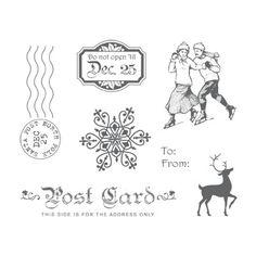 Winter Post Stamp Brush Set - Digital Download - by Stampin' Up!