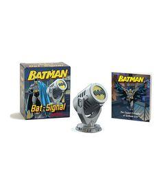 Look what I found on #zulily! Batman Bat Signal Mini Set by Batman #zulilyfinds