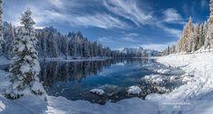 Arriva l'inverno sul Lago d'Antorno by Nicola Bombassei - Photo 130111643 - 500px