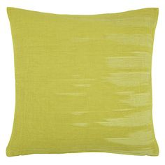 Buy House by John Lewis Ribble Cushion Online at johnlewis.com - citron 25