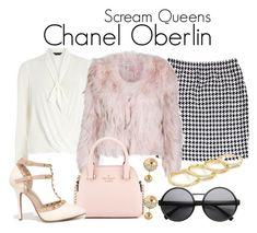 Scream Queens by sparkle1277 on Polyvore featuring polyvore, fashion, style, Dorothy Perkins, St. John, Wild Diva, Kate Spade, Fallon, Adele Marie, ZeroUV and clothing