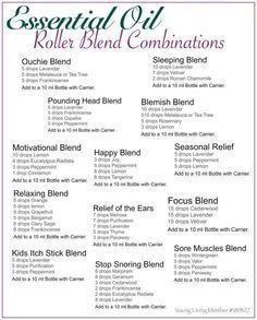 Essential Oil Roller Ball Blends for the Entire Family More