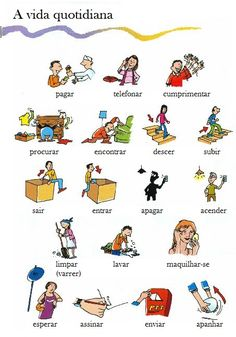 Portuguese vocabulary - A vida quotidiana / Daily life