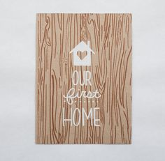 first home moving announcement housewarming greeting card on Etsy, $4.00