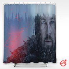 Cheap Movie Leonardo Dicaprio The Revenant Shower Curtain