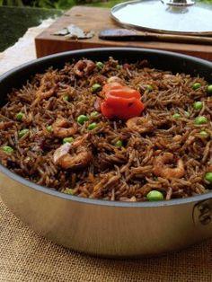 Riz Djon-Djon (riz haïtien)