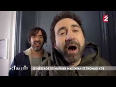 En marche avec Mathieu Madénian & Thomas VDB - #actuality