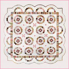 I love this pattern English paper piecing by Sue Daley