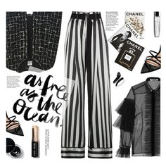 """""""Simple Pleasure"""" by imurzilkina ❤ liked on Polyvore featuring Chanel, Ann Demeulemeester, Philosophy di Lorenzo Serafini, Assouline Publishing, Gianvito Rossi, Bobbi Brown Cosmetics and Effy Jewelry"""