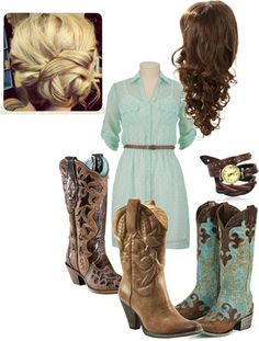 """Outfit for rodeo"" by bstone17 on Polyvore"