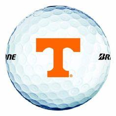 NCAA Tennessee Volunteers Logo 2013 e6 Golf Balls (Pack of 12) by Bridgestone Golf - Golf Spirit