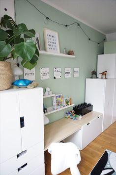 Sibling Room, Ikea Stuva, Baby Room Design, Nursery Wall Decor, Nursery Ideas, Small Rooms, Girl Room, Kids Bedroom, Kids Rooms