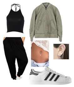 """""""Untitled #12"""" by marissatrinkle ❤ liked on Polyvore featuring adidas, Otis Jaxon, DRAKE, views and 60secondstyle"""